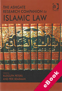 Cover of The Ashgate Research Companion to Islamic Law (eBook)