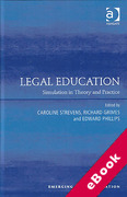 Cover of Legal Education: Simulation in Theory and Practice (eBook)