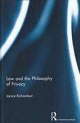 Cover of Law and the Philosophy of Privacy