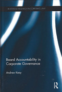 Cover of Board Accountability in Corporate Governance