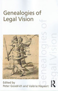 Cover of Genealogies of Legal Vision