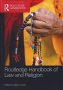 Cover of Routledge Handbook of Law and Religion