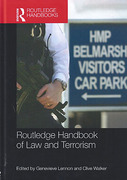 Cover of Routledge Handbook of Law and Terrorism