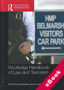 Cover of Routledge Handbook of Law and Terrorism (eBook)