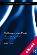 Cover of Well-Known Trade Marks: A Comparative Study of Japan and the EU (eBook)