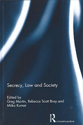 Cover of Secrecy, Law and Society