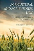 Cover of Agricultural and Agribusiness Law: An Introduction for Non-Lawyers