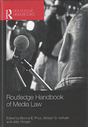 Cover of Routledge Handbook of Media Law