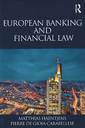 Cover of European Banking and Financial Law