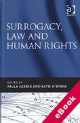 Cover of Surrogacy, Law and Human Rights (eBook)