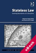 Cover of Stateless Law: Evolving Boundaries of a Discipline (eBook)