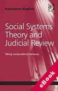 Cover of Social Systems Theory and Judicial Review: Taking Jurisprudence Seriously (eBook)