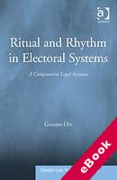 Cover of Ritual and Rhythm in Electoral Systems: A Comparative Legal Account (eBook)