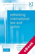 Cover of Rethinking International Law and Justice (eBook)