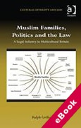 Cover of Muslim Families, Politics and the Law: A Legal Industry in Multicultural Britain (eBook)