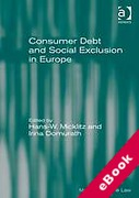 Cover of Consumer Debt and Social Exclusion in Europe (eBook)