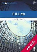 Cover of EU Law (eBook)