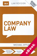 Cover of Routledge Revision Q&A Company Law  (eBook)