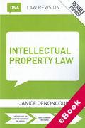 Cover of Routledge Revision Q&A: Intellectual Property Law (eBook)