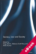 Cover of Secrecy, Law and Society (eBook)