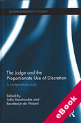 Cover of The Judge and the Proportionate Use of Discretion: A Comparative Administrative Law Study (eBook)