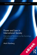 Cover of Power and Law in International Society: International Relations as the Sociology of International Law (eBook)
