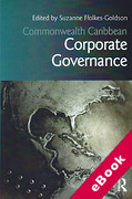 Cover of Commonwealth Caribbean Corporate Governance (eBook)