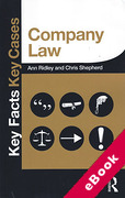 Cover of Key facts Key Cases: Company Law (eBook)