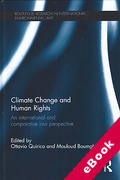 Cover of Climate Change and Human Rights: An International and Comparative Law Perspective (eBook)