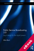 Cover of Public Service Broadcasting 3.0: Legal Design for the Digital Present (eBook)