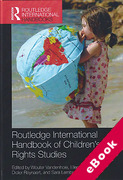 Cover of Routledge International Handbook of Children's Rights Studies (eBook)