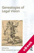 Cover of Genealogies of Legal Vision (eBook)