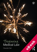 Cover of Beginning Medical Law (eBook)