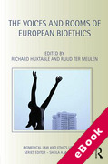 Cover of The Voices and Rooms of European Bioethics (eBook)