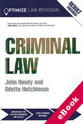 Cover of Optimize Criminal Law (eBook)