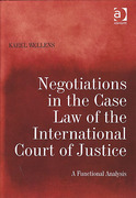 Cover of Negotiations in the Case Law of the International Court of Justice: A Functional Analysis