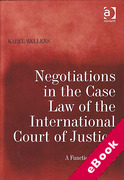Cover of Negotiations in the Case Law of the International Court of Justice: A Functional Analysis (eBook)