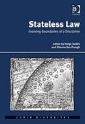 Cover of Stateless Law: Evolving Boundaries of a Discipline