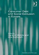 Cover of Consumer Debt and Social Exclusion in Europe