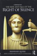 Cover of The Rise and Fall of the Right of Silence