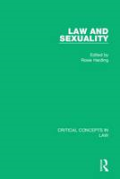 Cover of Harding: Law and Sexuality
