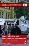 Cover of Human Rights and Humanitarian Intervention: Law and Practice in the Field