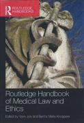 Cover of Routledge Handbook of Medical Law and Ethics