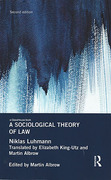 Cover of A Sociological Theory of Law
