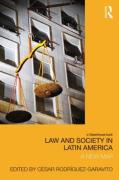 Cover of Law and Society in Latin America: A New Map