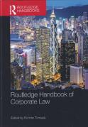 Cover of Routledge Handbook of Corporate Law