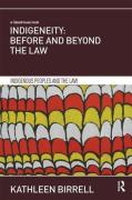 Cover of Indigeneity: Before and Beyond the Law