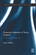 Cover of Preventive Detention of Terror Suspects: A New Legal Framework
