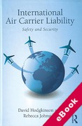 Cover of International Air Carrier Liability: Safety and Security (eBook)