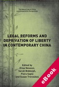 Cover of Legal Reforms and Deprivation of Liberty in Contemporary China (eBook)